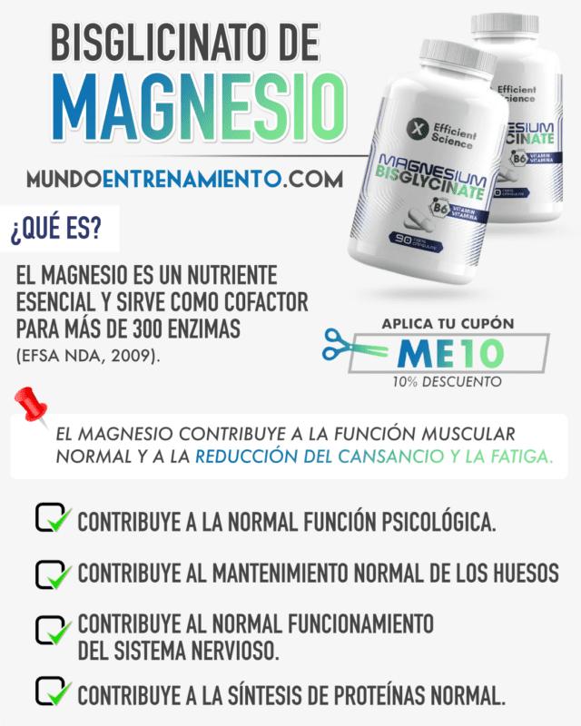 bisglicinato de magnesio