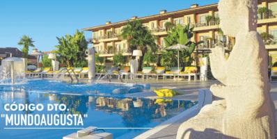 "Código descuento Augusta Spa Resort: ""MundoAugusta"""