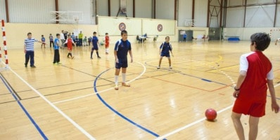 juegos de futbol sala en educación física