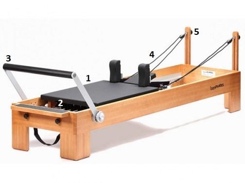 máquina reformer pilates
