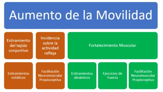métodos de entrenamiento para mejorar movilidad