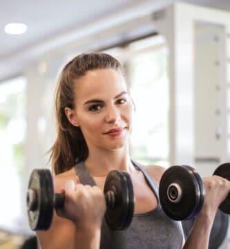 ejercicios con mancuerna