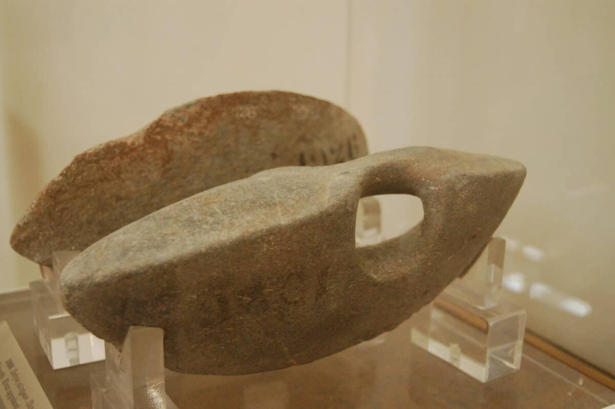 halteras antigua Grecia
