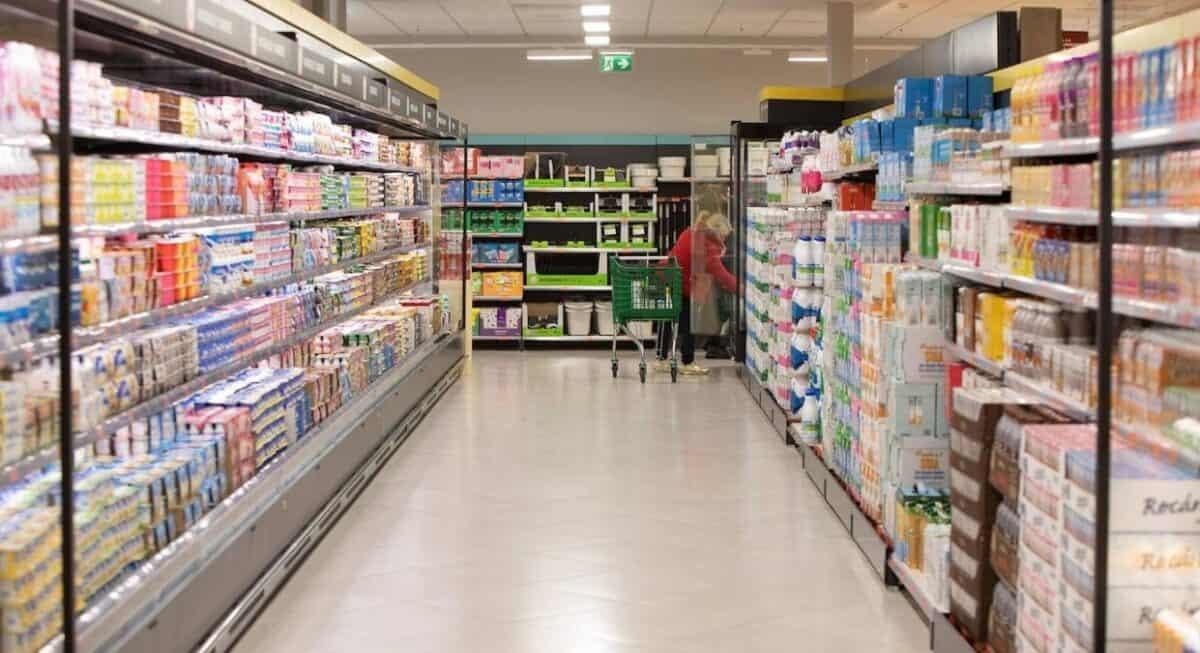 pasillo del supermercado