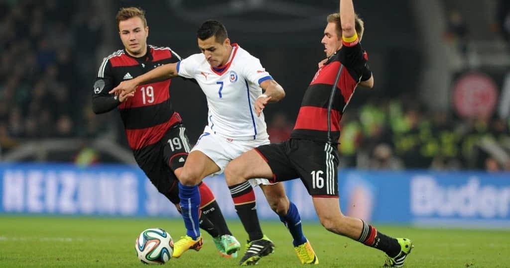 Alemania vs Chile suplementación en el fútbol