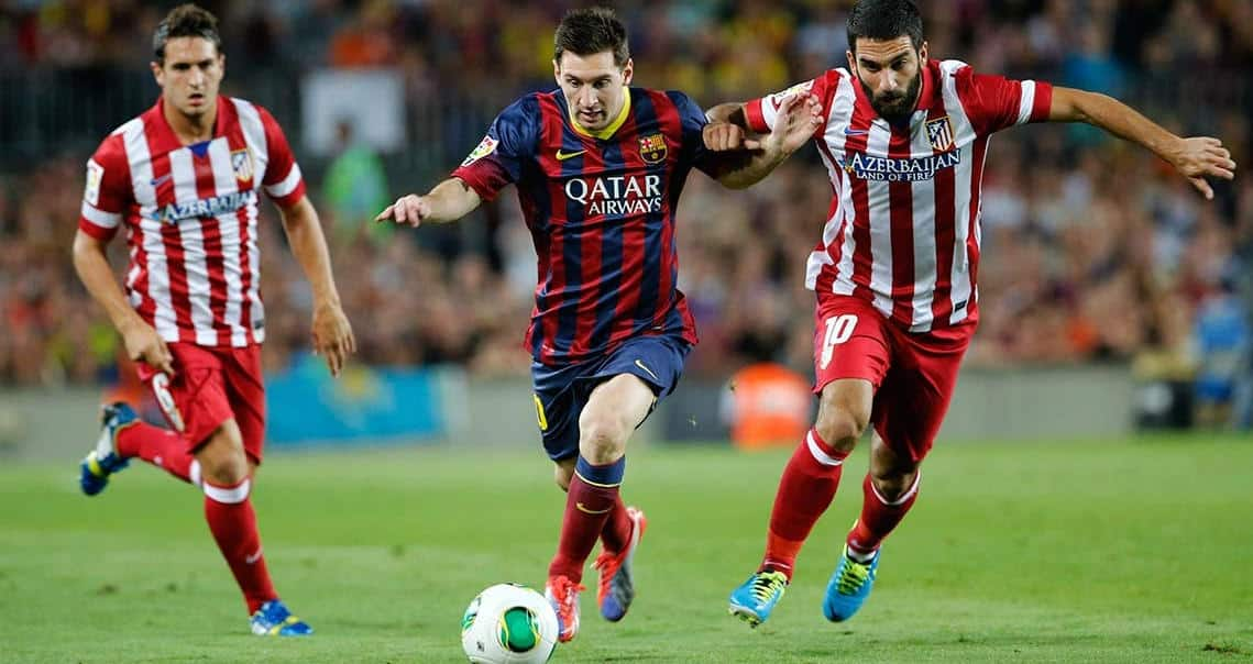 Messi Arda y Koke
