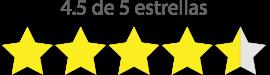 clasificación estrellas